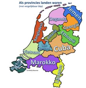 Als provincies landen waren